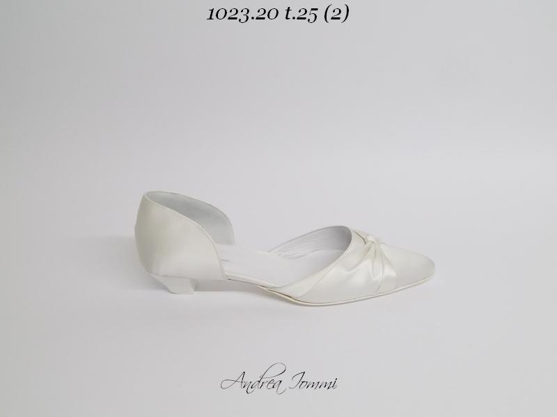 Scarpe da sposa tacco basso