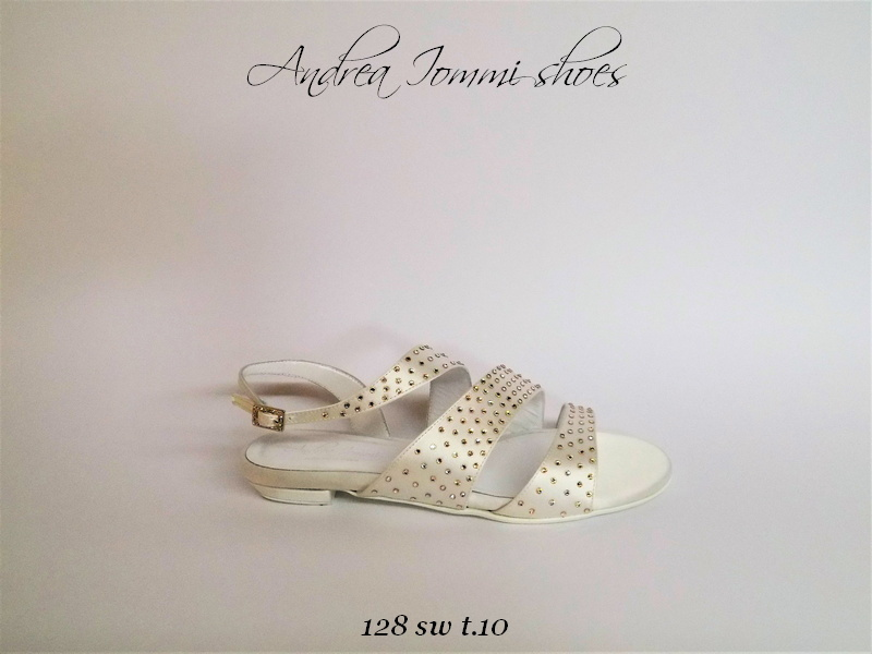 scarpe e sandali da sposa con tacco basso