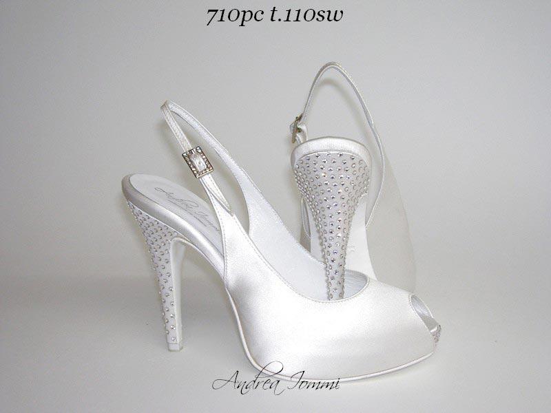 scarpe da sposa open toe
