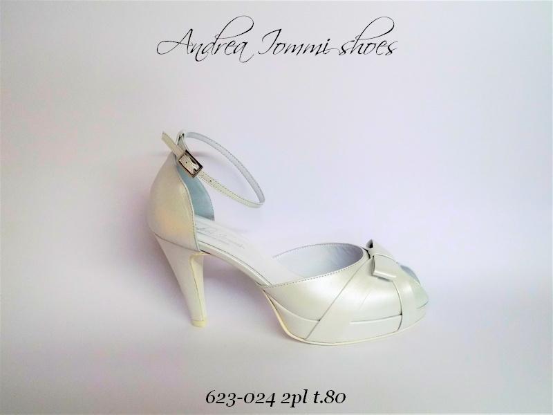 scarpe da sposa punta aperta made in Italy