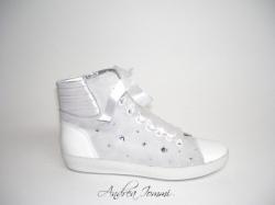 Sneaker con Swarovski