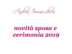 novità scarpe sposa e cerimonia 2019